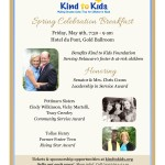 Kind to Kids Spring Celeb Invite 2014