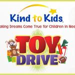 Kind to Kids toy drive logo